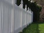 Vinyl decorative fence middle Tennessee